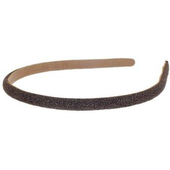 Susan Daniels - Headband - Skinny Metallic - Brown (1)
