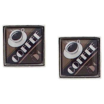 Michael Thornton - Cuff Links - Coffee