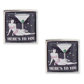 Michael Thornton - Cuff Links - Here's To You
