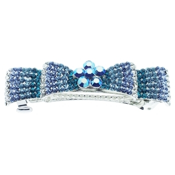 Medusa's Heirlooms - Crystal Encrusted Bow Automatic - Blue (1)