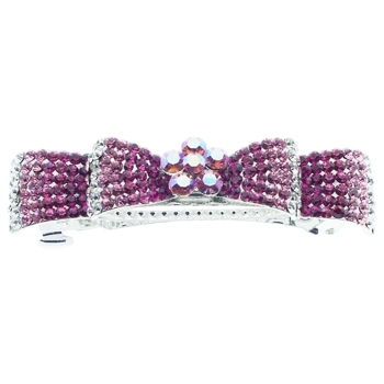Medusa's Heirlooms - Crystal Encrusted Bow Automatic - Pink (1)