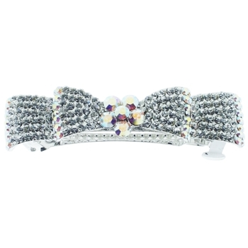 Medusa's Heirlooms - Crystal Encrusted Bow Automatic - White Diamond (1)