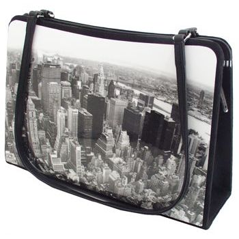 Karen Marie - Boutique Bags - New York Skyline 8inch Acrylic Tote (1)