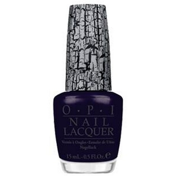 O.P.I. - Nail Lacquer - Navy Shatter - Shatter Collection .5 fl oz (15ml)