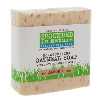 Grounded in Nature - Moisturizing Oatmeal Soap - Almond 5 oz