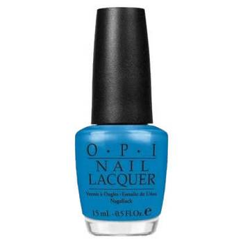 O.P.I. - Nail Lacquer - Ogre The Top Blue - Shrek Forever After Collection .5 fl oz (15ml)