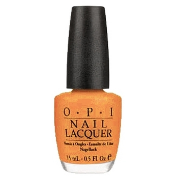 O.P.I. - Nail Lacquer - Osaka-To-Me-Orange - Japanese Collection .5 fl oz (15ml)