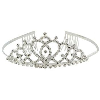 Karen Marie - Bridal Collection - Hearts of Love Crystal Tiara (1)