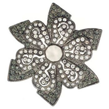 Karen Marie - Star Shaped Brooch Pin (1) - Shadow