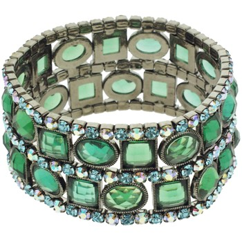 Medusa's Heirlooms - Art Deco Bracelet - Blue/Green