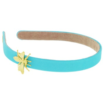 Lily Posh - Bumble Bee Adorned Headband - Turquoise (1)