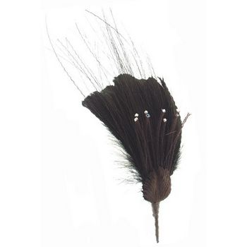 Angelica Accessories - Chandelle & flue feathers w/sprouts - Pin (1)