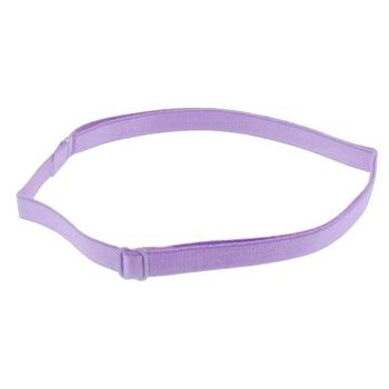 HB HairJewels - Lucy Collection - Bra Strap Headband - Lilac (1)