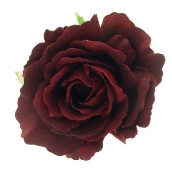 Karen Marie - Le Fleur Collection - American Beauty Rose - Flaming Red  (1)