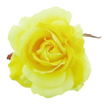 Karen Marie - Le Fleur Collection - American Beauty Rose - Majestic Yellow (1)