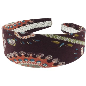 SOHO BEAT - Travelling Gypsy - Boho Headband - Orange Mocha Medi Burst