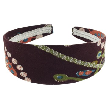 SOHO BEAT - Travelling Gypsy - Boho Headband - Mocha and Bamboo