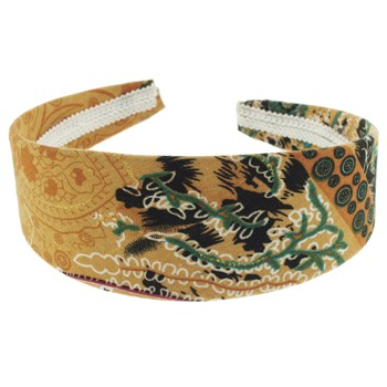 SOHO BEAT - Travelling Gypsy - Boho Headband - Orange Sunset
