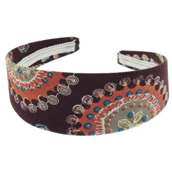 SOHO BEAT - Travelling Gypsy - Boho Headband - Orange Mocha Burst