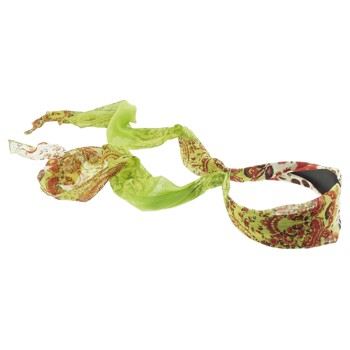 SOHO BEAT - Travelling Gypsy - Boho Scarf Headband - Green Mint Mojito