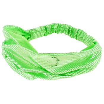 SOHO BEAT - DiscoDiva - Retro Style Bandeau - Lime Green