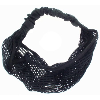 SOHO BEAT - Mysterious Mermaid - Oval Mesh Bandeau Stretch Headband - Midnight Marvel