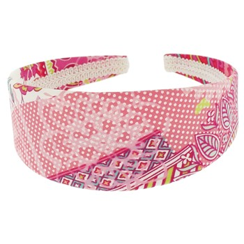 SOHO BEAT - Hawaiian Punch - Fabric Headband - Strawberry Fields