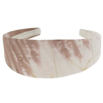 SOHO BEAT - Woodstock Love - Tie Dye Fabric Headband - Mocha Jolt