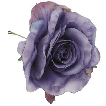 SOHO BEAT - Evening Romance - Blossoming Rose Bobby - Purple Amethyst
