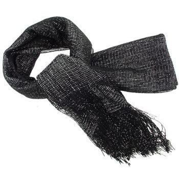 SOHO BEAT - Fashionista Scarves -  Glitter Infusion - Black and Silver
