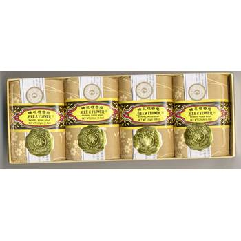 Bee & Flower Gift Pack - Sandalwood Bars