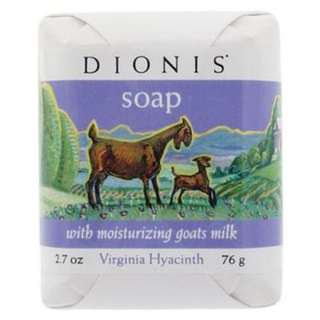 Dionis - Soap w/Moisturizing Goats Milk - Virginia Hyacinth 2.7 oz