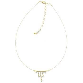 SOHO BEAT - French Fashionista - Golden Teardrop Necklace