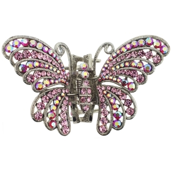 Medusa's Heirlooms - Estate Gem Butterfly Claw - Pink (1)