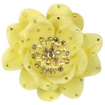 Tarina Tarantino - Large Poppy Flower Anywhere Clip - Jonquil