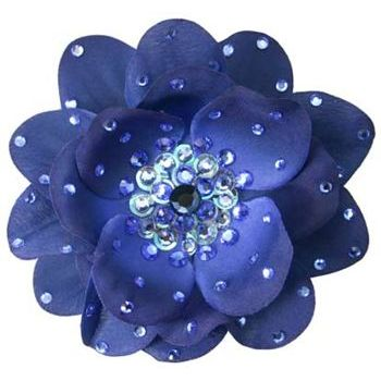 Tarina Tarantino - Large Poppy Flower Anywhere Clip - Sapphire