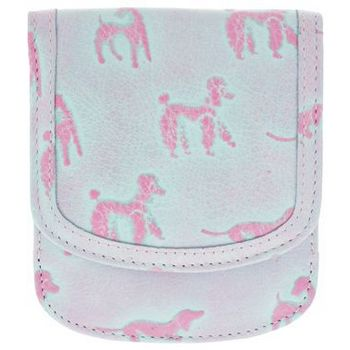 Taxi Wallets  - Novelty Prints - Doggies Pink