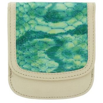 Taxi Wallets  - Python Print - Teal