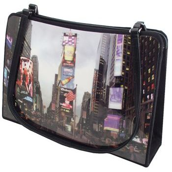 Karen Marie - Boutique Bags - Times Square 8inch Acrylic Tote (1)