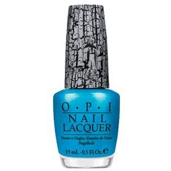 O.P.I. - Nail Lacquer - Turquoise Shatter - Shatter Collection .5 fl oz (15ml)