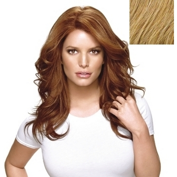HairDo - Long & Luscious Wig - Heat Friendly Synthetic  (Color: R25 Ginger Blonde)