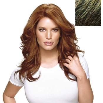 HairDo - Long & Luscious Wig - Heat Friendly Synthetic  (Color: R11S+ Glazed Mocha)