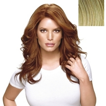 HairDo - Long & Luscious Wig - Heat Friendly Synthetic  (Color: R14/88H Golden Wheat)