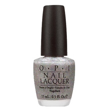 O.P.I. - Nail Lacquer - Yule Love This Silver Glitter - Christmas Holidays Collection .5 fl oz (15ml)