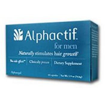 Alphactif for Men - Naturally stimulates hair growth - 60 capsules