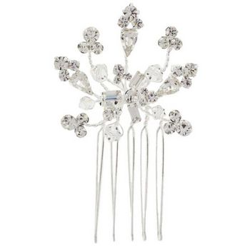Betty Wales - Sparkling Crystal Shape Variety Petite Side Comb (1)