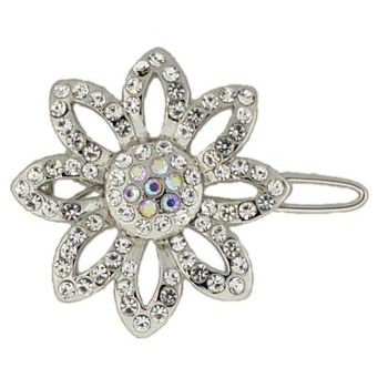 Betty Wales - Crystal Daisy Wire Clip (1)