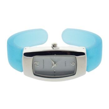 Karen Marie - Jelly Watch Bracelet - Teal Blue