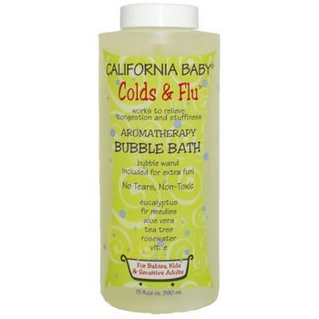 California Baby - Bubble Bath - Colds & Flu - 13 oz