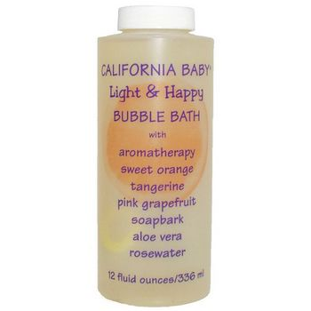 California Baby - Bubble Bath - Light & Happy - 13 oz